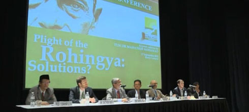 INTERNATIONAL CONFERENCE: ON THE PLIGHT OF THE ROHINGYA: SOLUTION?