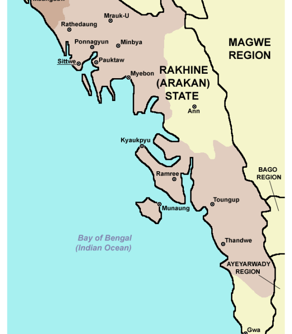 Traditional Homeland of Rohingya in Myanmar