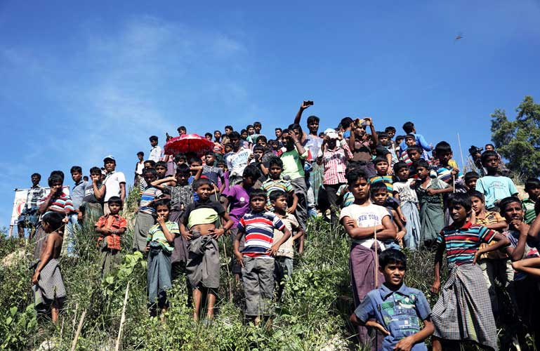 US urges Myanmar to create conditions for sustainable return of Rohingyas
