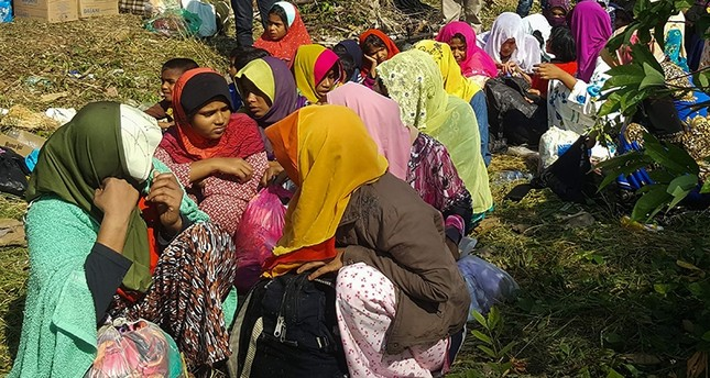 34 trafficked Rohingya women, children found on Malaysia beach