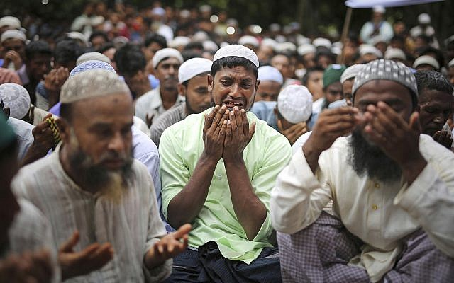 Jewish groups praise bill to sanction Burma for persecution of Rohingya Muslims