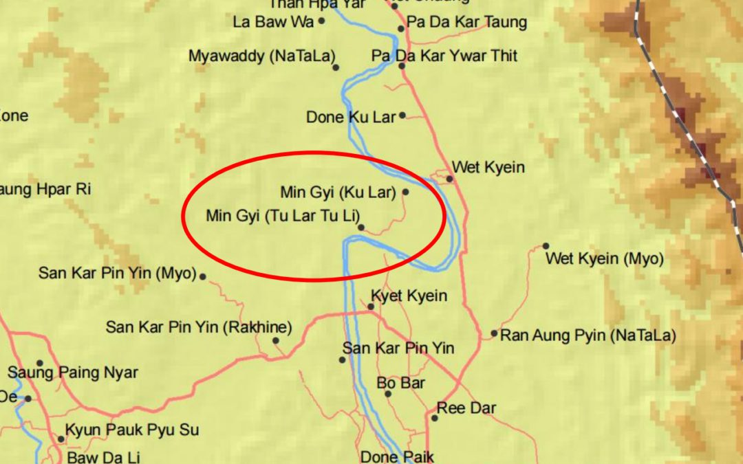 "Demanding the removal of racist term ""Ku Lar"" from UN's official Myanmar maps of Northern Rakhine State"