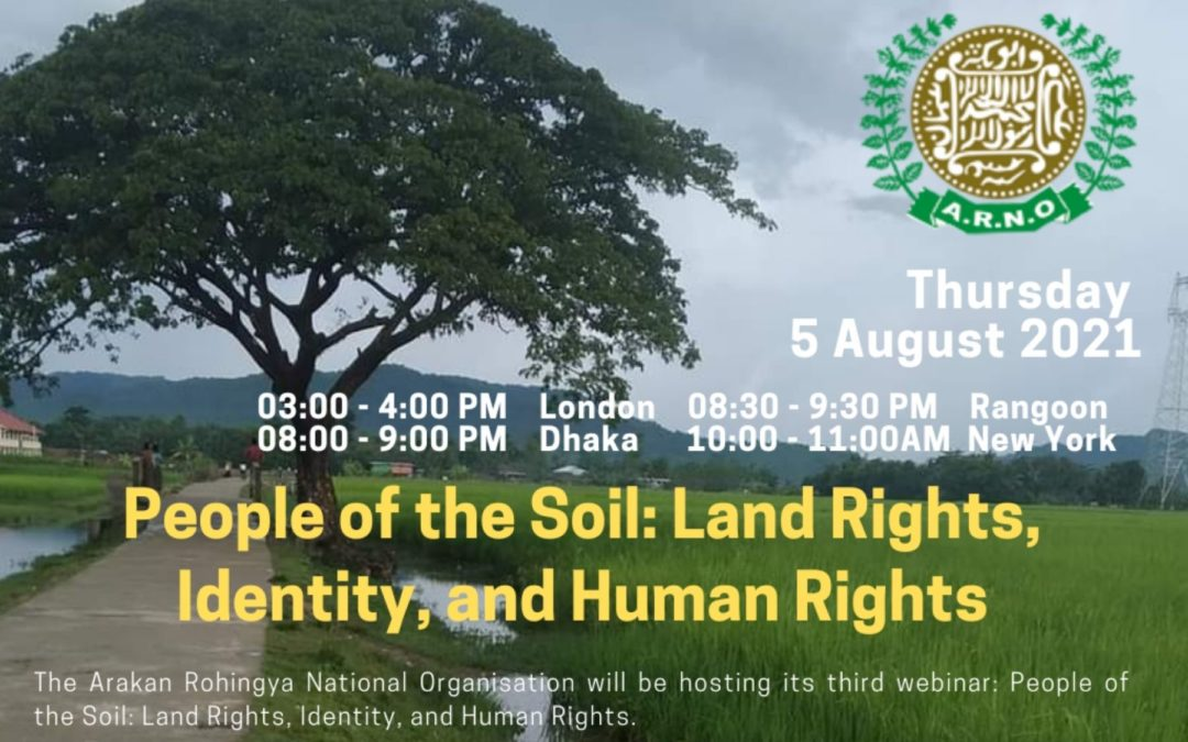 Webinar – People of the Soil: Land Rights, Identity, and Human Rights