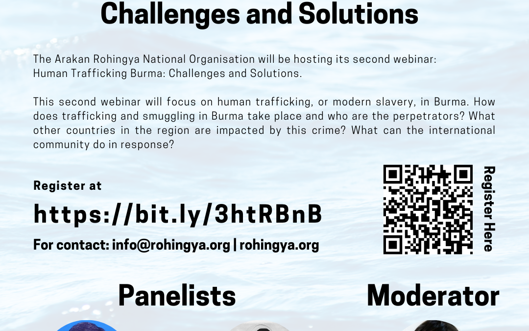 Webinar: Human Trafficking in Burma: Challenges and Solutions